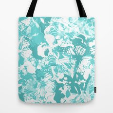 My Aqua butterflies Tote Bag