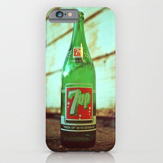 Nostalgic 7up bottle iPhone & iPod Case