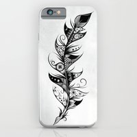 iPhone & iPod Case featuring Feather by LouJah