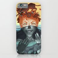 iPhone & iPod Case featuring Dinner for Two by Miguel Co