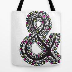 Aztec Ampersand.  Tote Bag