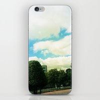 Trees And Chaos iPhone & iPod Skin