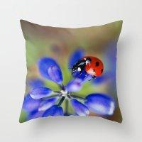 Polka Dot Throw Pillow