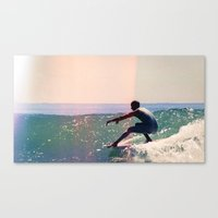 Nathaniel Reeves - Malibu - 35mm Canvas Print