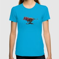 Übermensch - LIMITED TI… Womens Fitted Tee Teal SMALL