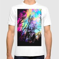 T-shirt featuring Black Trees Colorful Spa… by 2sweet4words Designs