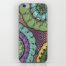 Flowerbursts iPhone & iPod Skin