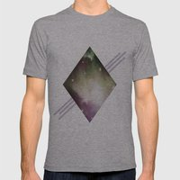 DreamScape Mens Fitted Tee Athletic Grey SMALL