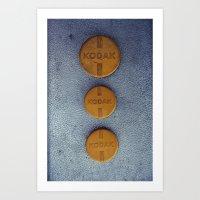 Kodak Art Print