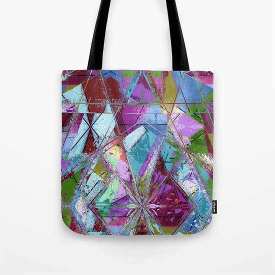 Abstract geometrics Tote Bag