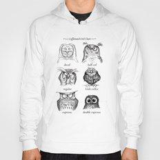 Caffeinated Owls Hoody
