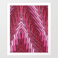 Blushing Art Print