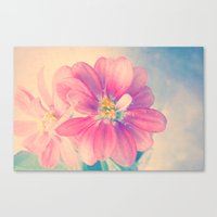 Flowers Forest  Canvas Print