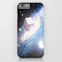 iPhone & iPod Case featuring Space Cube by GetNaked