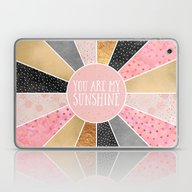 Laptop & iPad Skin featuring You Are My Sunshine by Elisabeth Fredriksso…