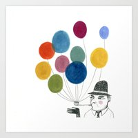 Nobody Made Balloons The… Art Print