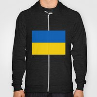 National flag of Ukraine, Authentic version (to scale and color) Hoody