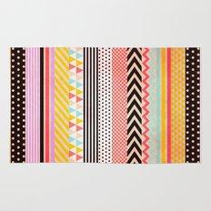Washi Tape Rug