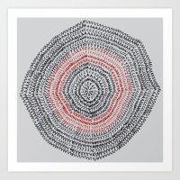 Vacancy Zine Mandala I A Art Print