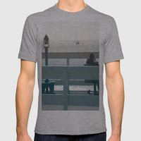 Solitude Mens Fitted Tee Athletic Grey SMALL