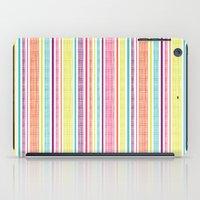 Textured Stripes iPad Case
