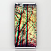 3-d vision iPhone & iPod Skin
