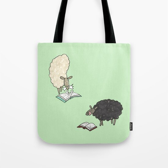 Hungry Sheep Tote Bag