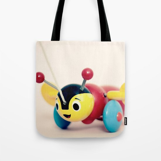 Buzzy Bee Tote Bag