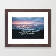Mercies Framed Art Print