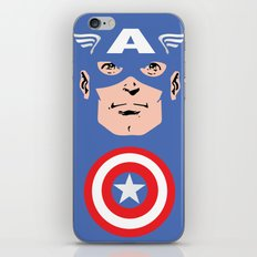 Captain A iPhone & iPod Skin