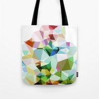 Tote Bag featuring Facets by Tina Carroll