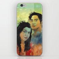 Gidget and Nino iPhone & iPod Skin