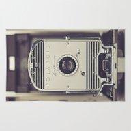 Vintage Polaroid Land Ca… Rug