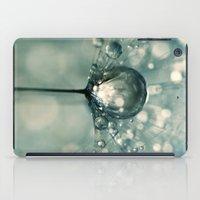 Sea Grey Drop iPad Case