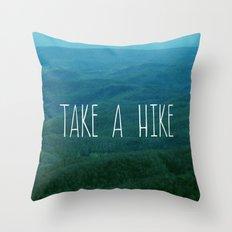 Take A Hike Throw Pillow