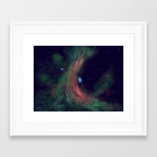 Stellar Wind Framed Art Print