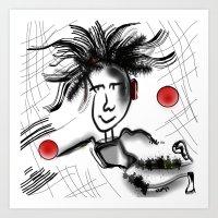 goalie Art Print