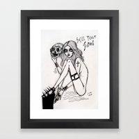 Sell Your Soul Framed Art Print