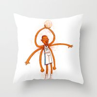 The Durantula Throw Pillow