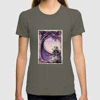 Midsummer Night's Dream Womens Fitted Tee Lieutenant SMALL