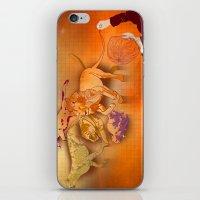 Raining Cats iPhone & iPod Skin