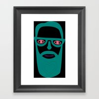 Carry Your Love In Your … Framed Art Print
