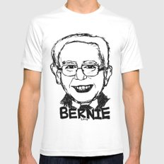 Bernie Sanders 2016 Mens Fitted Tee White SMALL