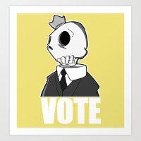 Politico Art Print