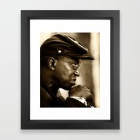 Civil War Soldier In Pro… Framed Art Print