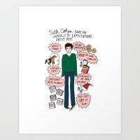 Seth Cohen, Perfection Art Print