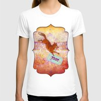 Fox Trot Womens Fitted Tee White SMALL