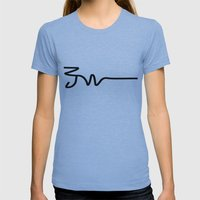 JW Womens Fitted Tee Athletic Blue SMALL