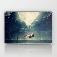 Moon Reverie over Paris Laptop & iPad Skin