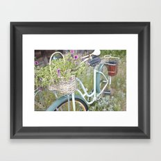 Bicycle  Framed Art Print